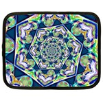 Power Spiral Polygon Blue Green White Netbook Case (XXL)  Front