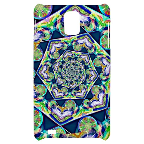 Power Spiral Polygon Blue Green White Samsung Infuse 4G Hardshell Case