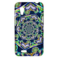 Power Spiral Polygon Blue Green White HTC Desire VT (T328T) Hardshell Case