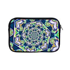Power Spiral Polygon Blue Green White Apple Ipad Mini Zipper Cases
