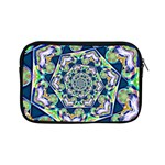 Power Spiral Polygon Blue Green White Apple iPad Mini Zipper Cases Front