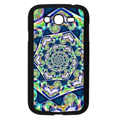 Power Spiral Polygon Blue Green White Samsung Galaxy Grand DUOS I9082 Case (Black)