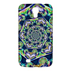 Power Spiral Polygon Blue Green White Samsung Galaxy Mega 6.3  I9200 Hardshell Case