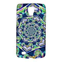 Power Spiral Polygon Blue Green White Galaxy S4 Active