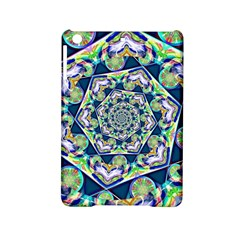 Power Spiral Polygon Blue Green White iPad Mini 2 Hardshell Cases