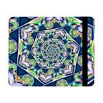 Power Spiral Polygon Blue Green White Samsung Galaxy Tab Pro 8.4  Flip Case Front
