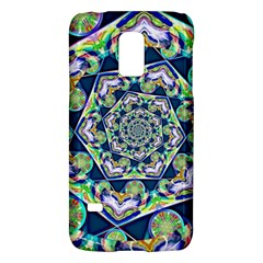 Power Spiral Polygon Blue Green White Galaxy S5 Mini