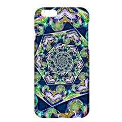 Power Spiral Polygon Blue Green White Apple Iphone 6 Plus/6s Plus Hardshell Case