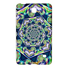 Power Spiral Polygon Blue Green White Samsung Galaxy Tab 4 (8 ) Hardshell Case