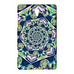Power Spiral Polygon Blue Green White Samsung Galaxy Tab S (8 4 ) Hardshell Case