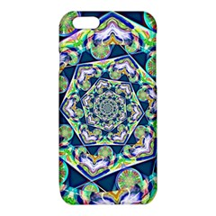 Power Spiral Polygon Blue Green White iPhone 6/6S TPU Case