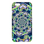 Power Spiral Polygon Blue Green White iPhone 6/6S TPU Case Front