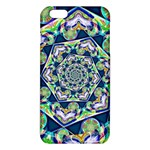 Power Spiral Polygon Blue Green White iPhone 6 Plus/6S Plus TPU Case Front