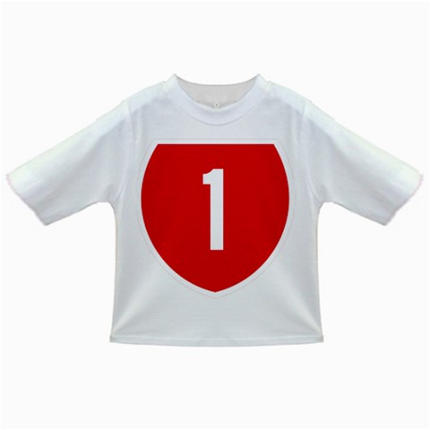 New Zealand State Highway 1 Infant/Toddler T-Shirts
