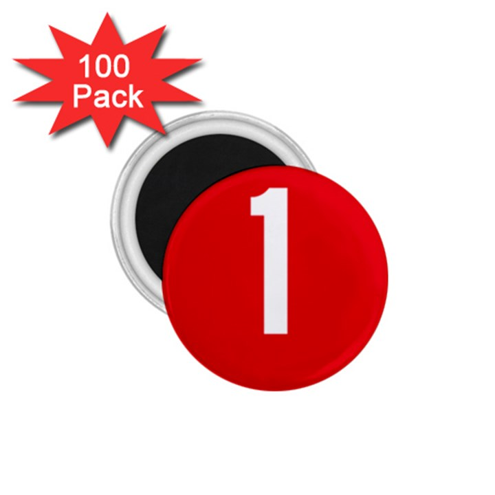 New Zealand State Highway 1 1.75  Magnets (100 pack)