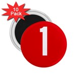 New Zealand State Highway 1 2.25  Magnets (10 pack)  Front
