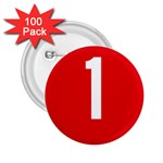 New Zealand State Highway 1 2.25  Buttons (100 pack)  Front