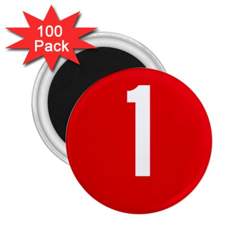 New Zealand State Highway 1 2.25  Magnets (100 pack)