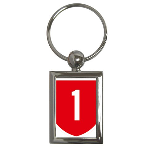 New Zealand State Highway 1 Key Chains (Rectangle)