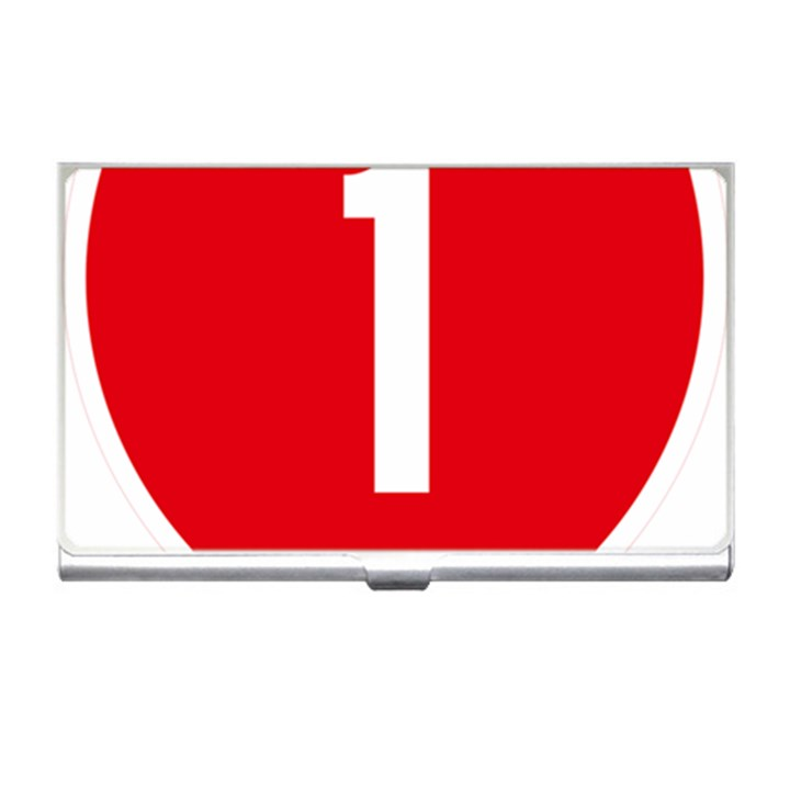 New Zealand State Highway 1 Business Card Holders