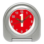 New Zealand State Highway 1 Travel Alarm Clocks Front
