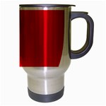 New Zealand State Highway 1 Travel Mug (Silver Gray) Right