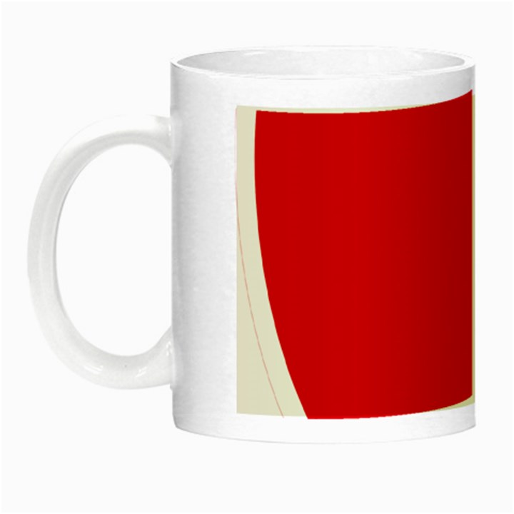 New Zealand State Highway 1 Night Luminous Mugs