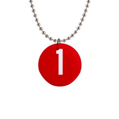New Zealand State Highway 1 Button Necklaces