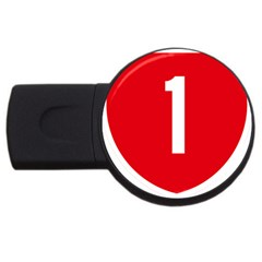 New Zealand State Highway 1 USB Flash Drive Round (4 GB)