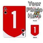 New Zealand State Highway 1 Playing Cards 54 Designs  Front - SpadeA
