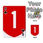 New Zealand State Highway 1 Playing Cards 54 Designs  Front - Club8