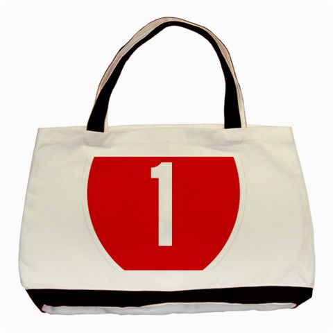 New Zealand State Highway 1 Basic Tote Bag