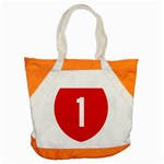 New Zealand State Highway 1 Accent Tote Bag Front