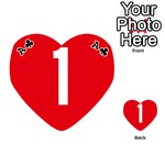 New Zealand State Highway 1 Playing Cards 54 (Heart)  Front - ClubA