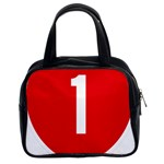 New Zealand State Highway 1 Classic Handbags (2 Sides) Front