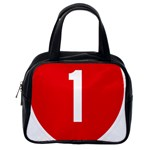 New Zealand State Highway 1 Classic Handbags (2 Sides) Back
