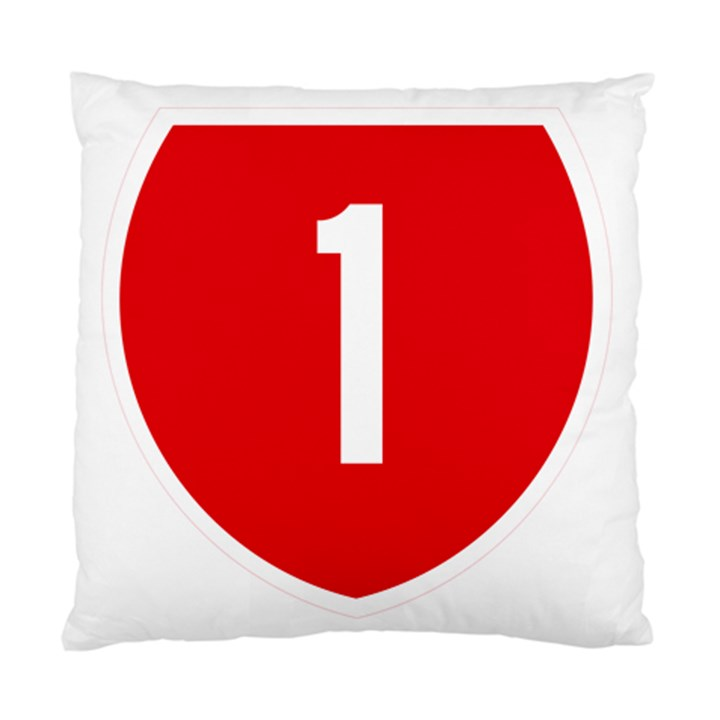 New Zealand State Highway 1 Standard Cushion Case (Two Sides)