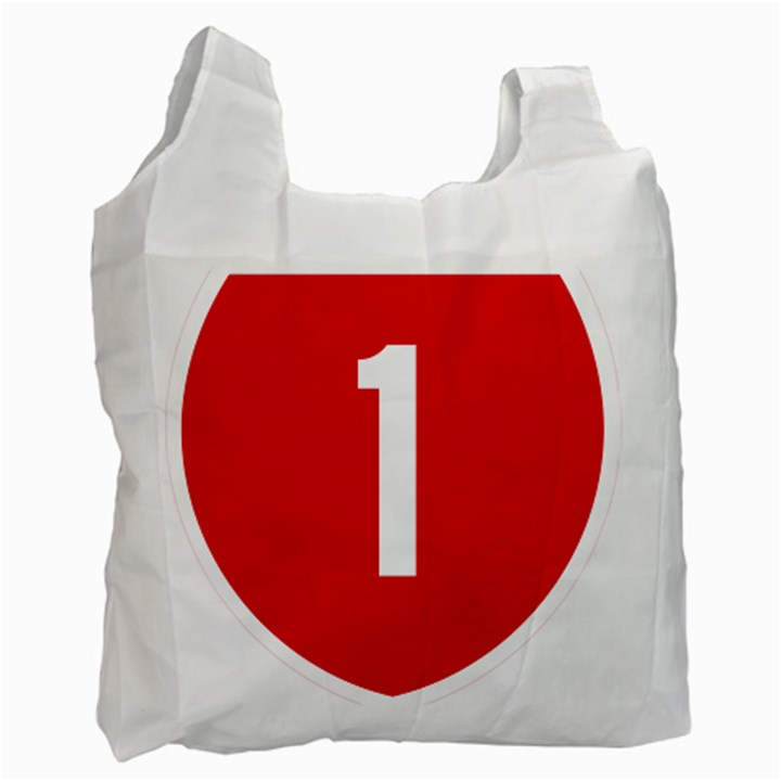 New Zealand State Highway 1 Recycle Bag (Two Side)