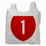 New Zealand State Highway 1 Recycle Bag (Two Side)  Back