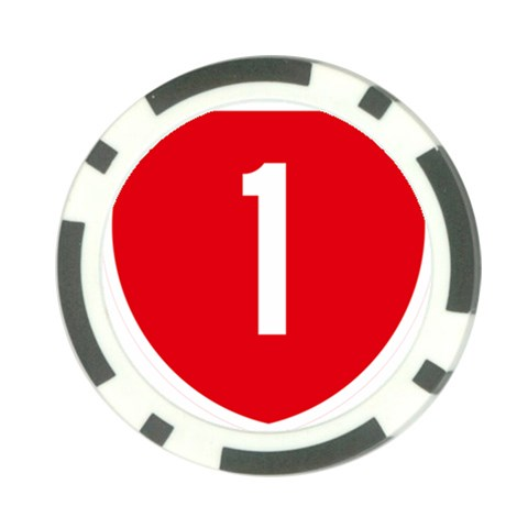 New Zealand State Highway 1 Poker Chip Card Guards (10 pack)