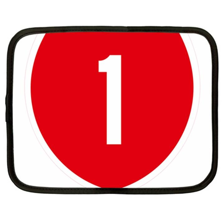 New Zealand State Highway 1 Netbook Case (XXL)