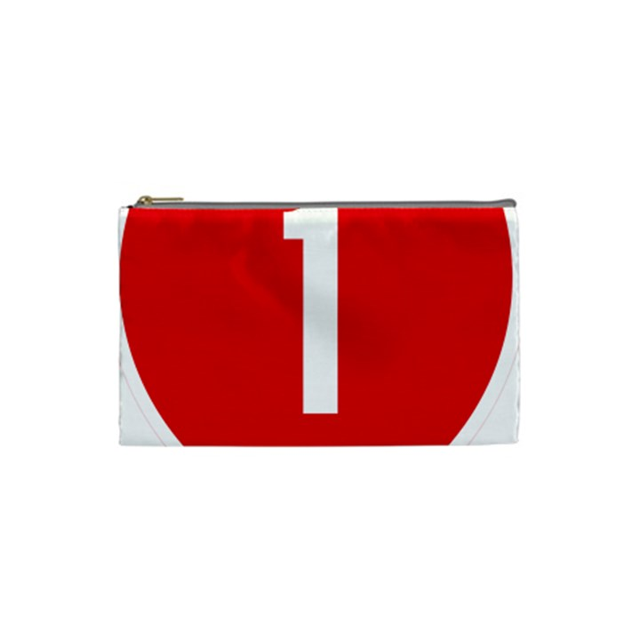 New Zealand State Highway 1 Cosmetic Bag (Small)