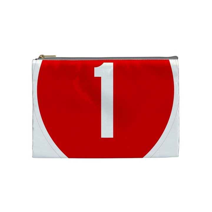 New Zealand State Highway 1 Cosmetic Bag (Medium)