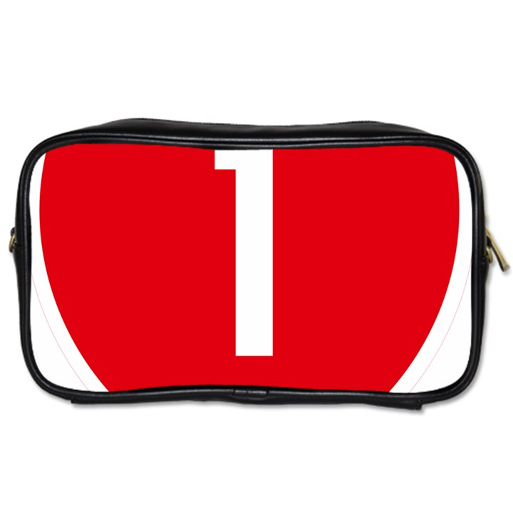New Zealand State Highway 1 Toiletries Bags