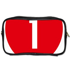 New Zealand State Highway 1 Toiletries Bags 2-Side