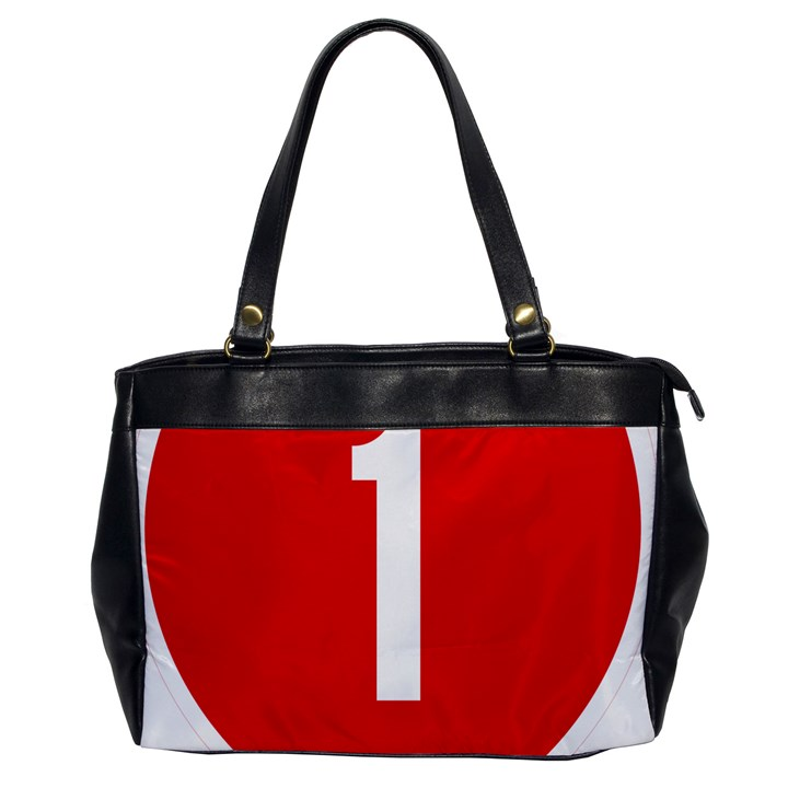 New Zealand State Highway 1 Office Handbags