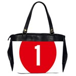 New Zealand State Highway 1 Office Handbags (2 Sides)  Back