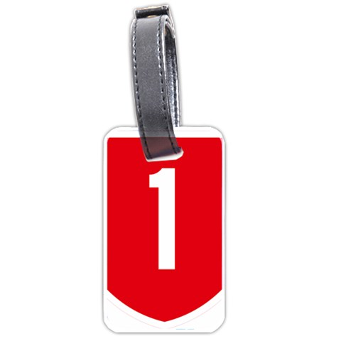 New Zealand State Highway 1 Luggage Tags (One Side)