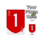 New Zealand State Highway 1 Playing Cards 54 (Mini)  Front - Heart3