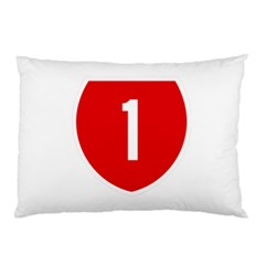 New Zealand State Highway 1 Pillow Case (two Sides)